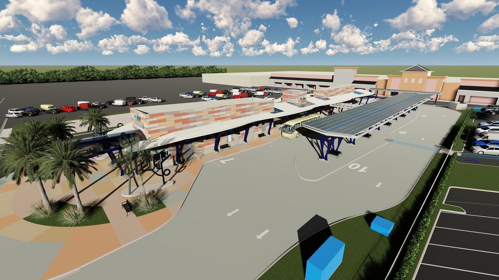 Broward County Lauderhill Mall Transit Center