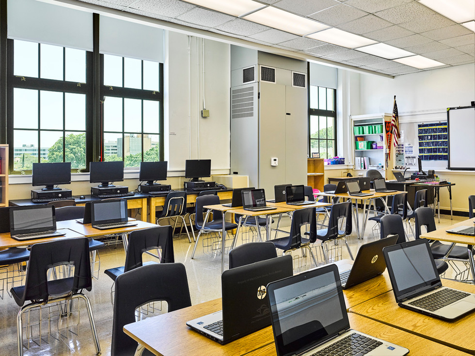 Shenandoah Middle School Classrooom