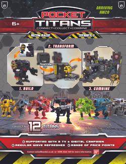 POCKET TITANS Toy World FP ad