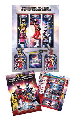Power Rangers advertising lg