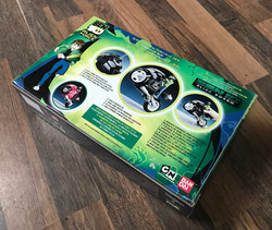 Ben 10 cycle back of pack