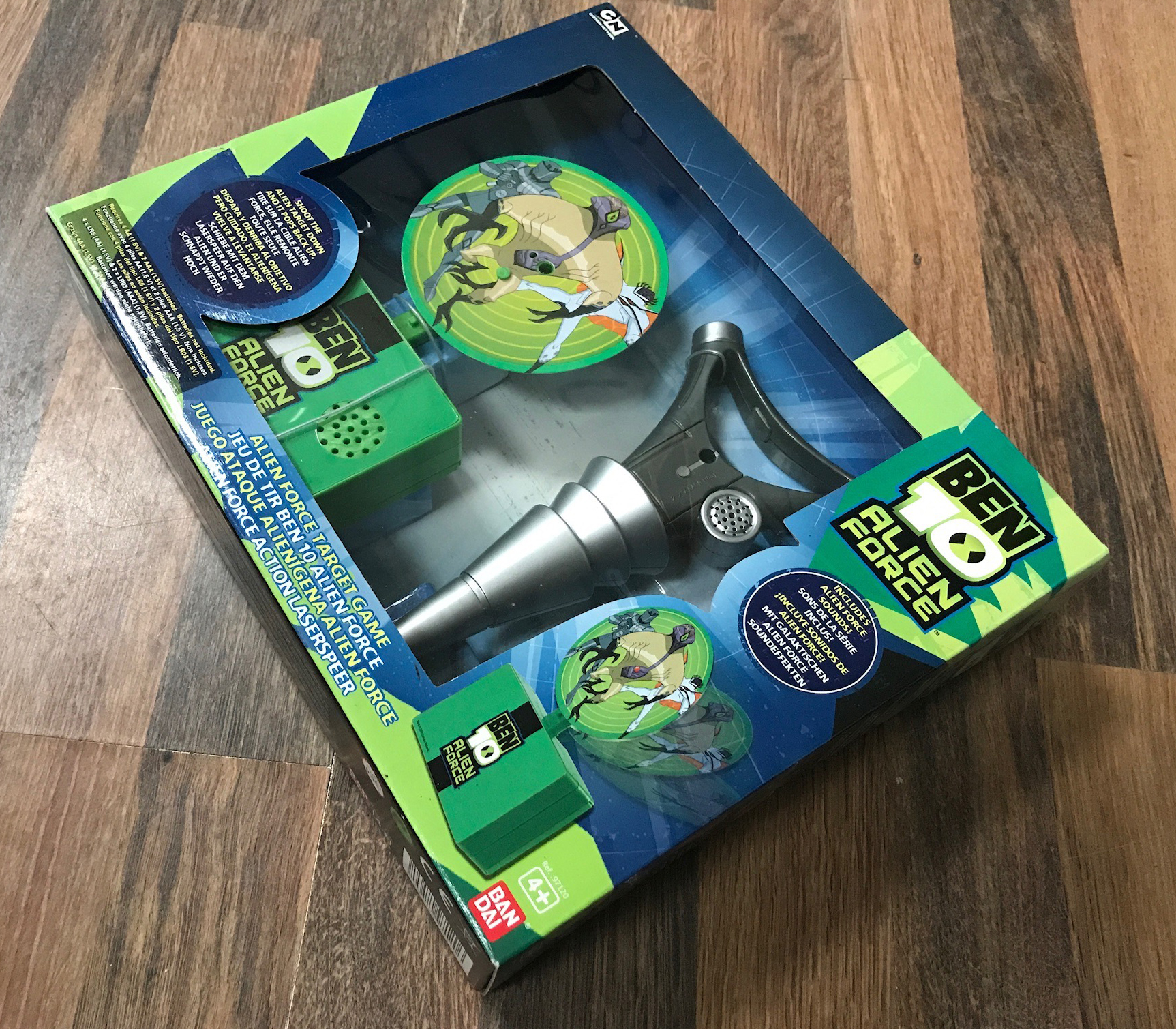 Ben 10 Target game front of pack