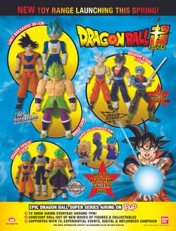 Dragon Ball Toy World advert