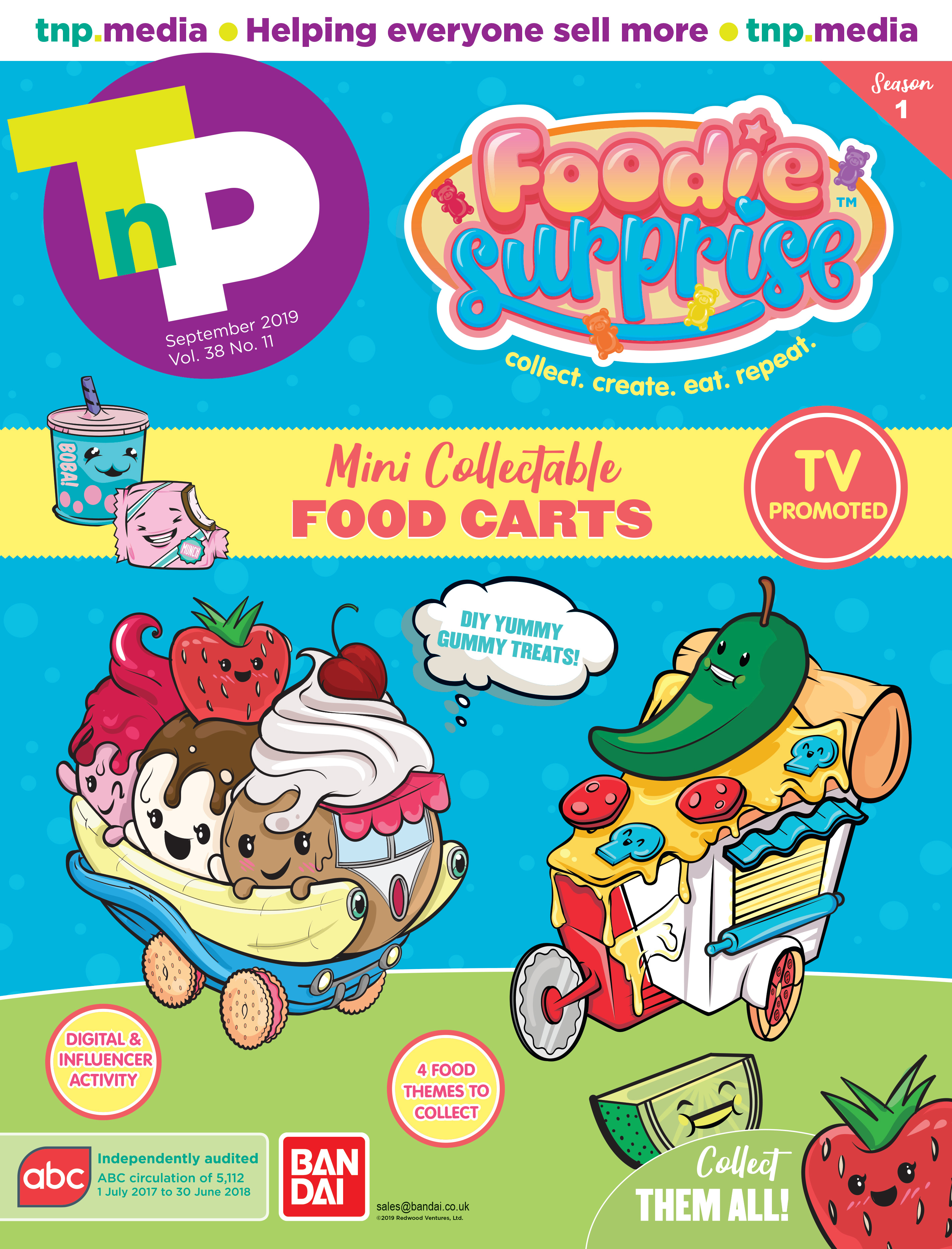 TNP Foodie Surpise Front Cover