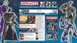 Sprukits Gamereactor Desktop Mock up