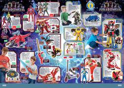 Argos Summer a5 Flyer Power Rangers