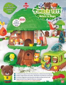 Timber Tots TNP advert