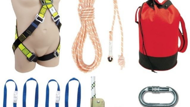 Commercial Roofing Kit - Kernmantle Rope