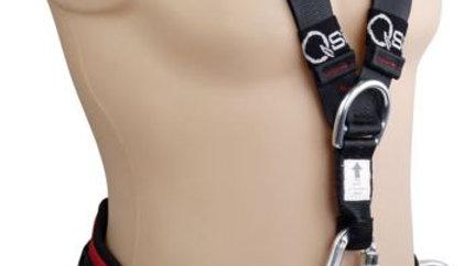 Premium Multitask Rope Rescue Harness - Aluminium Quick Release Buckles