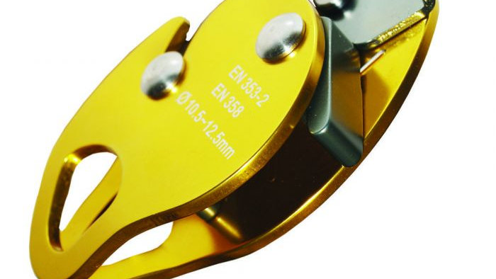 Aluminium Rope Grab - Gold Colour - Easily Removed from Rope