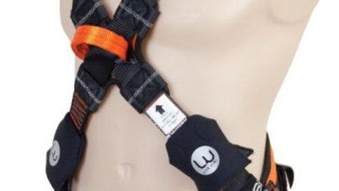 3XL LIVE WIRE Premium Cross Over Tower Harness. Adjustable Pole Strap Attachment