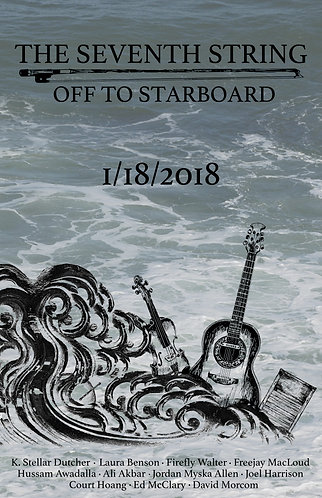 Off To Starboard Poster