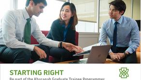 Khazanah Graduate Trainee Programmes