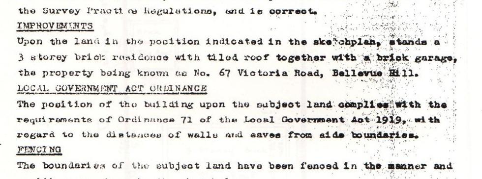 Surveyor Certificate