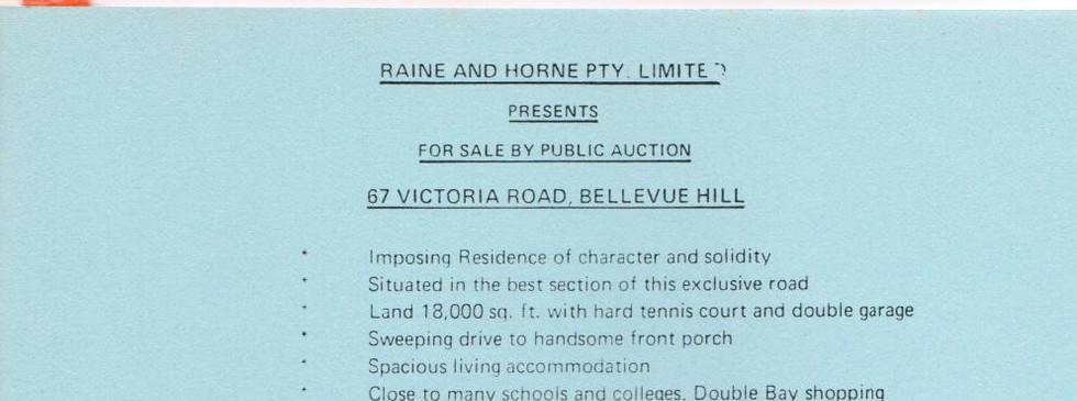 Auction Sale Notice
