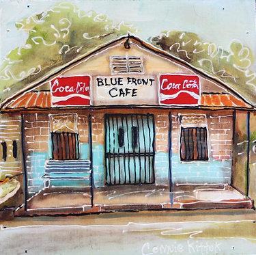 Blue Front Cafe - print