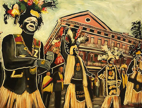 ZULU on Parade - Original Art