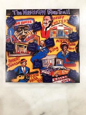 The mississippi Blues Trail - Print
