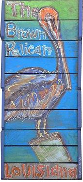 Louisiana Pelican Original Art