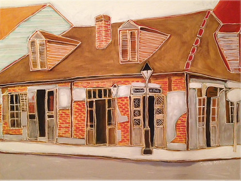 Lafitte's Blacksmith Shop Print