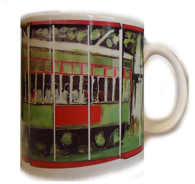 Street Car coffee cup