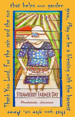 Strawberry Farmer Day Print