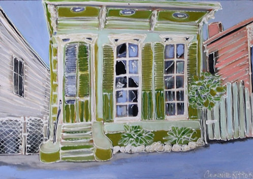 New Orleans House - print