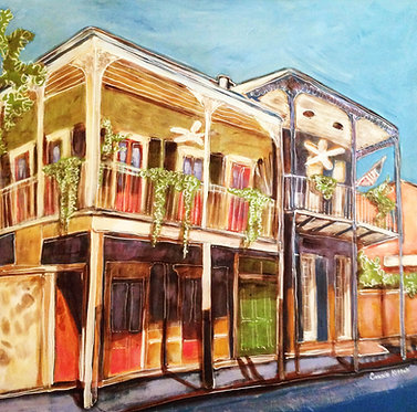 French Quarter Street - Print