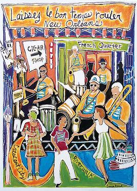 French Quarter Festival - Print