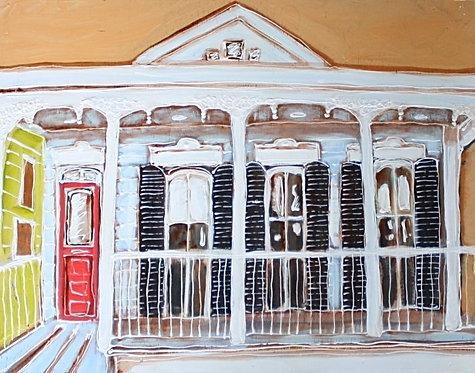 Creole Cottage - Original Art