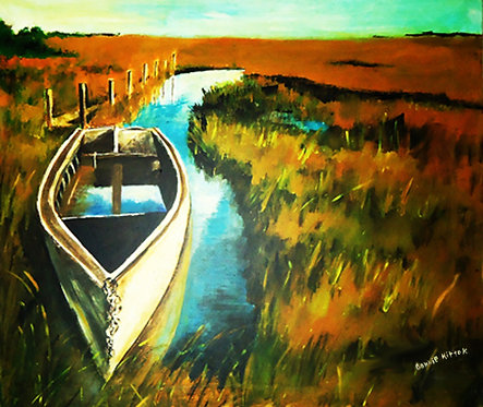 On the Bayou - Original Art