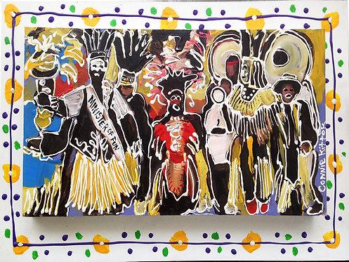 Zulu Tramps - Print