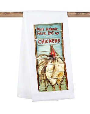 Ain't Nobody Home but us Chickens