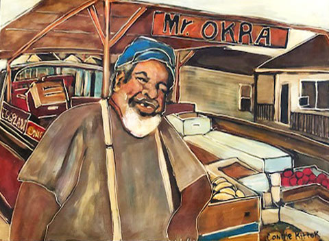 Mr. Okra - Original Art