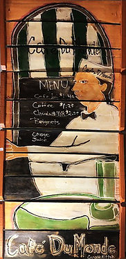 Cafe DuMonde - Original Art
