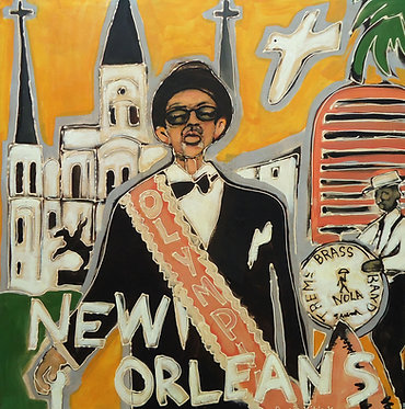 New Orleans - Original Art