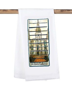 St. Louis Cathedral Kitchen Towel