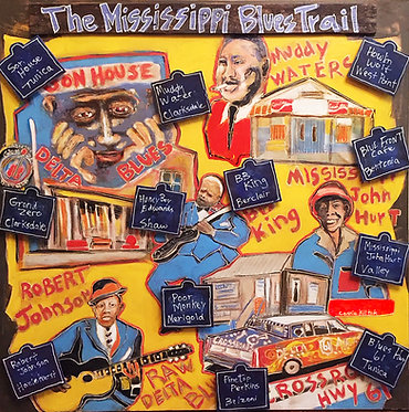 The mississippi Blues Trail plaque