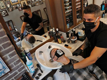 Así será la nueva normalidad para estéticas y barberías