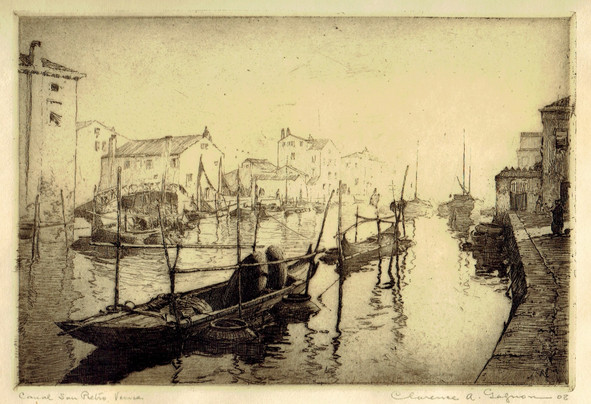 Canal San Pietro, Venice
