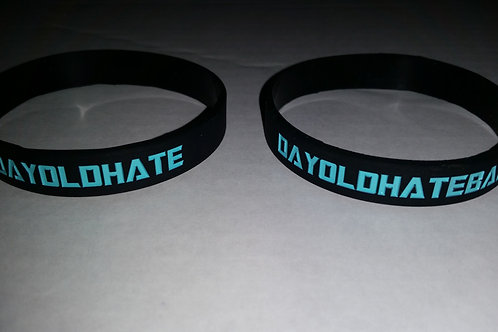 DAYOLDHATErubber bracelets