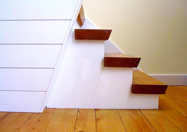 King/Frishkopf Residence - Stair Detail