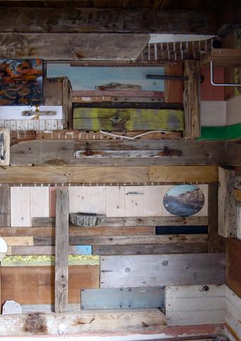Wood Wall Painting #1
