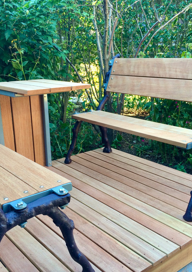 Chapin Residence - Garden Benches and Table