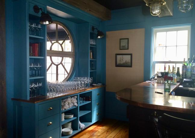 Strangers & Saints Restaurant Cabinetry and Bar