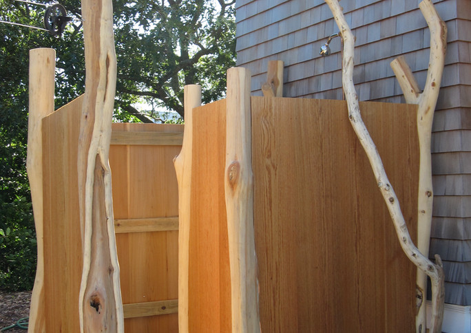 Schecter Residence - Outdoor shower