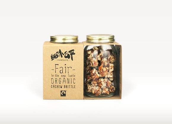 Fair Taste - Organic Cashew Brittle (180g)