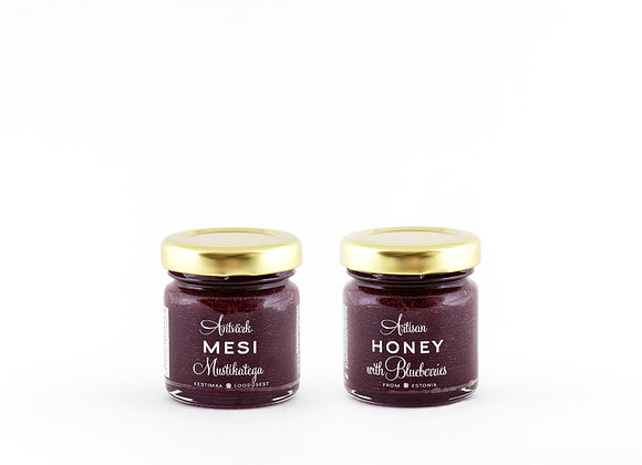 Artisan Honey - Honey with Blueberries (50g)