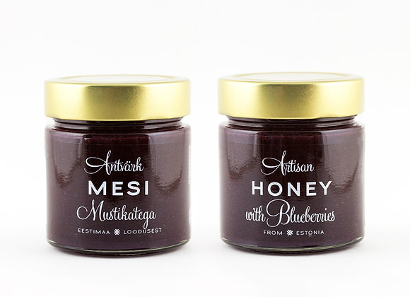 Artisan Honey - Honey with Blueberries (300g)