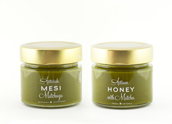 Artisan Honey - Honey with Matcha (200g)